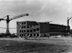 Стройка основного корпуса института
