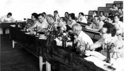 Заседание кафедры ТЭА 1974 год